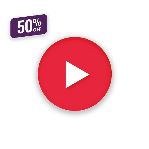 YouTube Klicks kaufen zu 50% Rabatt